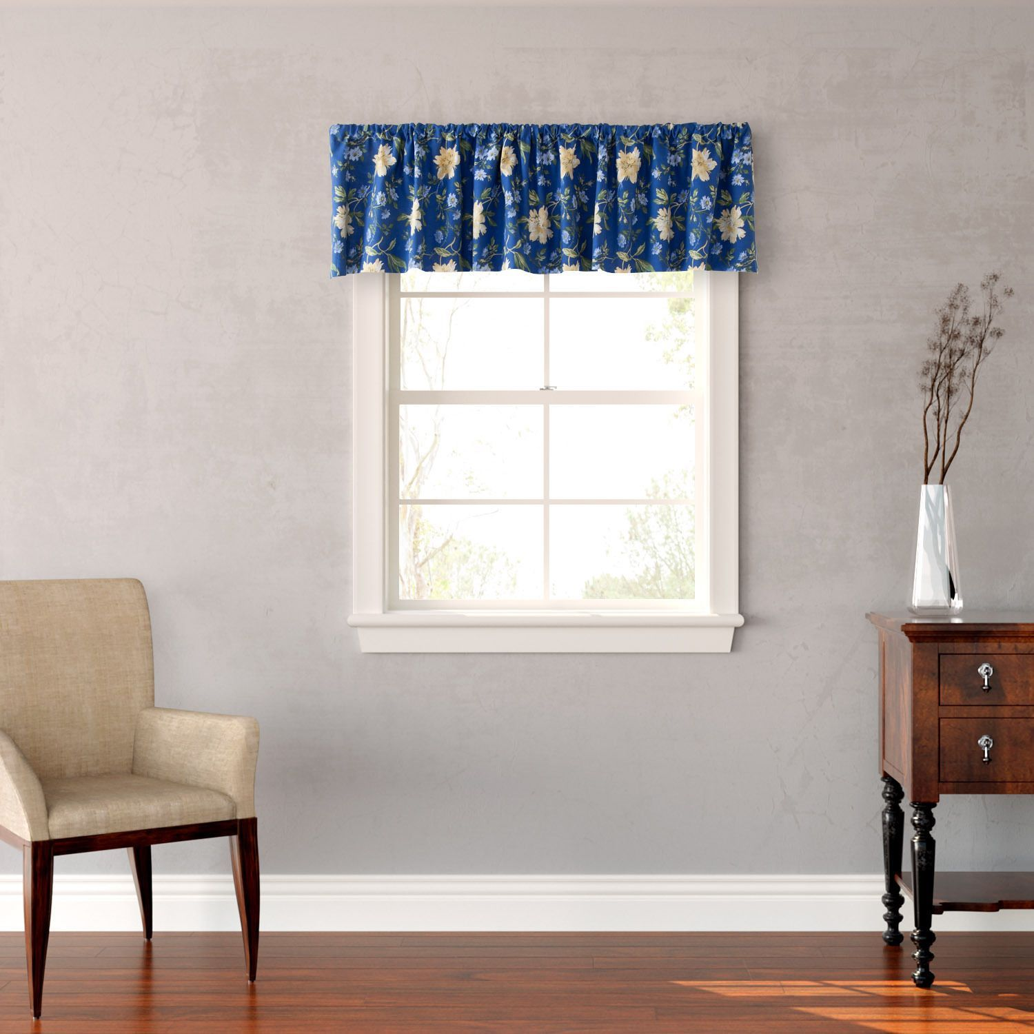 Laura Ashley Emilie Floral Window Valance