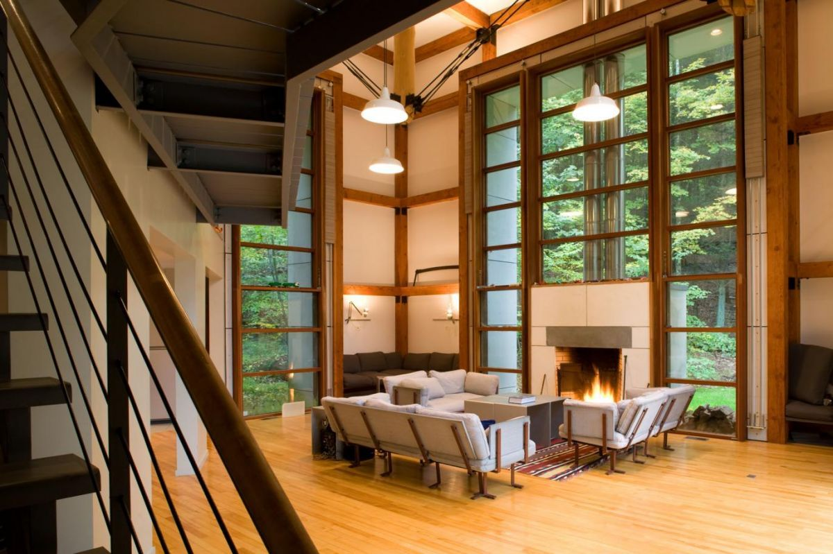 The Bridge House Bridges The Gap Between Modern Design And Rustic Charm    Homes And Hues Part 76