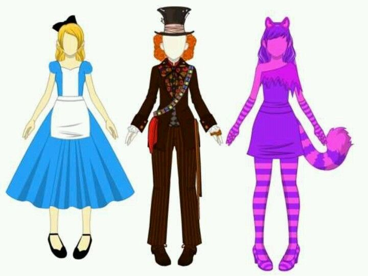 Alice In Wonderland Costume Ideas Fantasias Halloween Fantasias