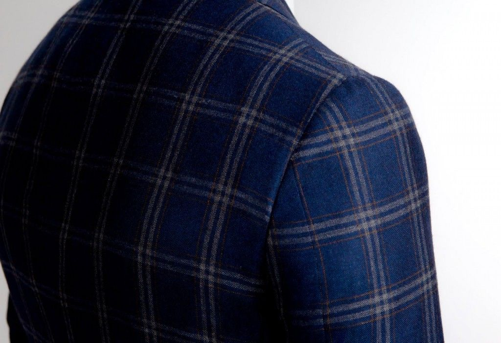 Ezra Paul...dare to be different, Plaid Blue (article explaining Italian tailoring here)