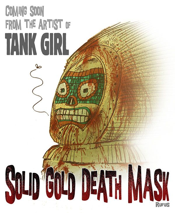 SOLID GOLD DEATH MASK on Behance