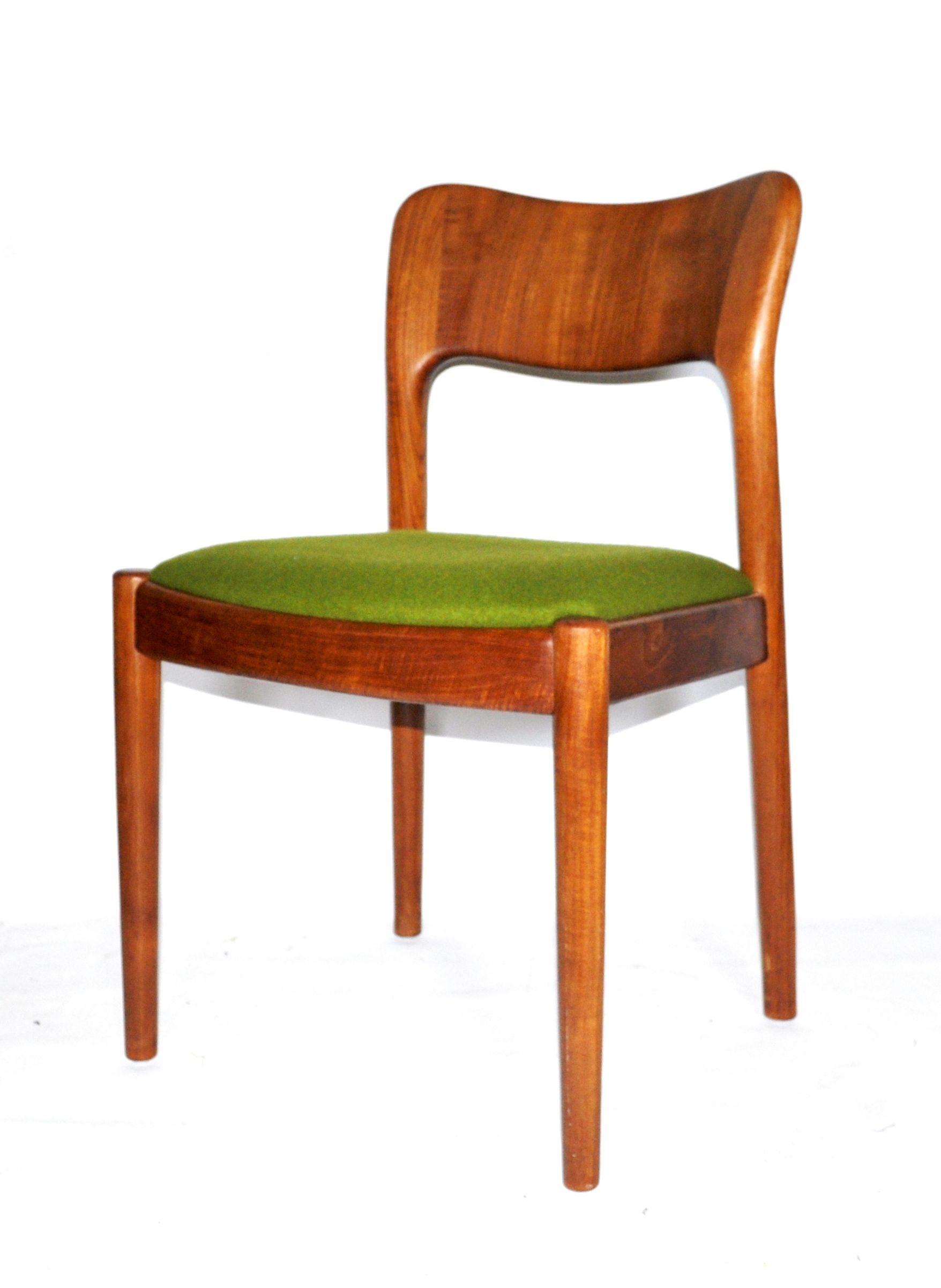 Rare Solid Teak Danish Desk Chair By Koefoeds Hornslet Mid Century Modern Danish Modern Table Danish Desk Mid Century Modern