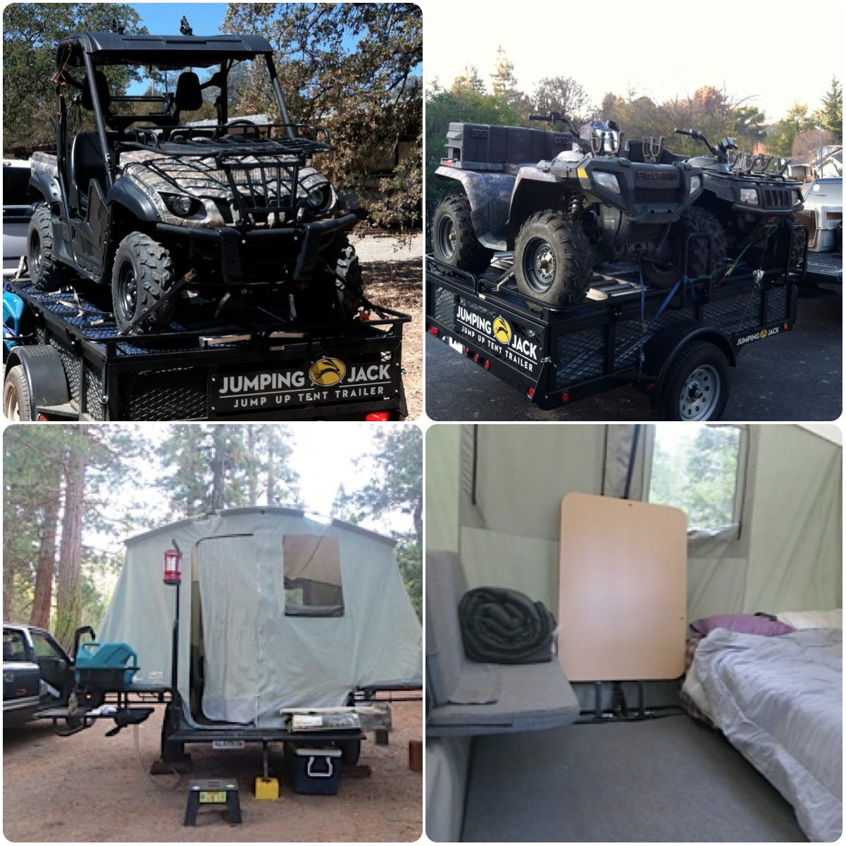 Tent Trailers Jumping Jack Trailers Jumping Jack Trailer Tent Trailer Camping