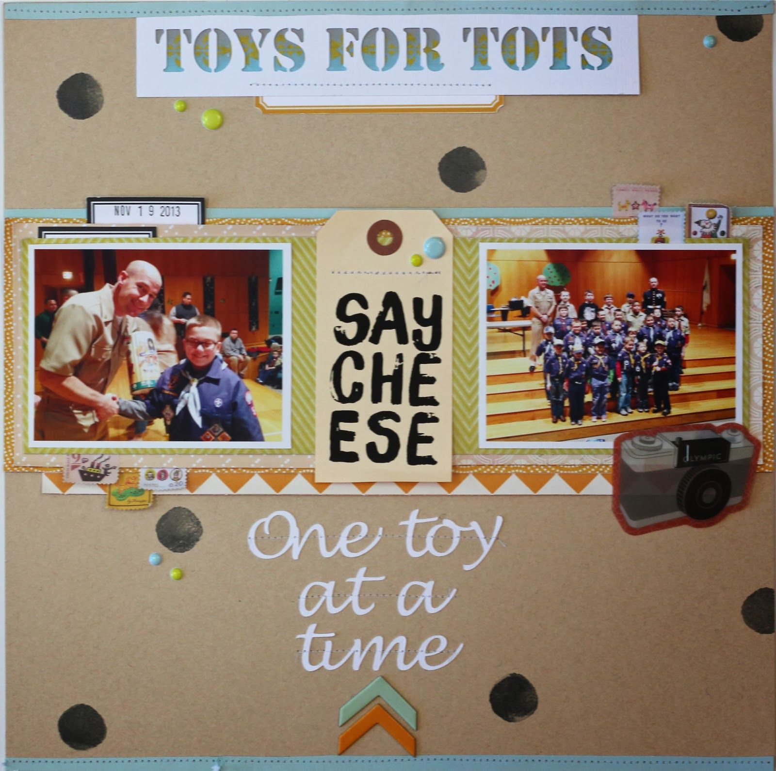 Toys for tots images  Toys for Tots layout by MaryAnn Maldonado using StudioCalico