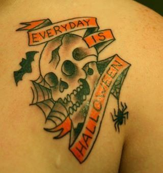 Everyday is Halloween tattoo | tattoos picture halloween tattoos ...