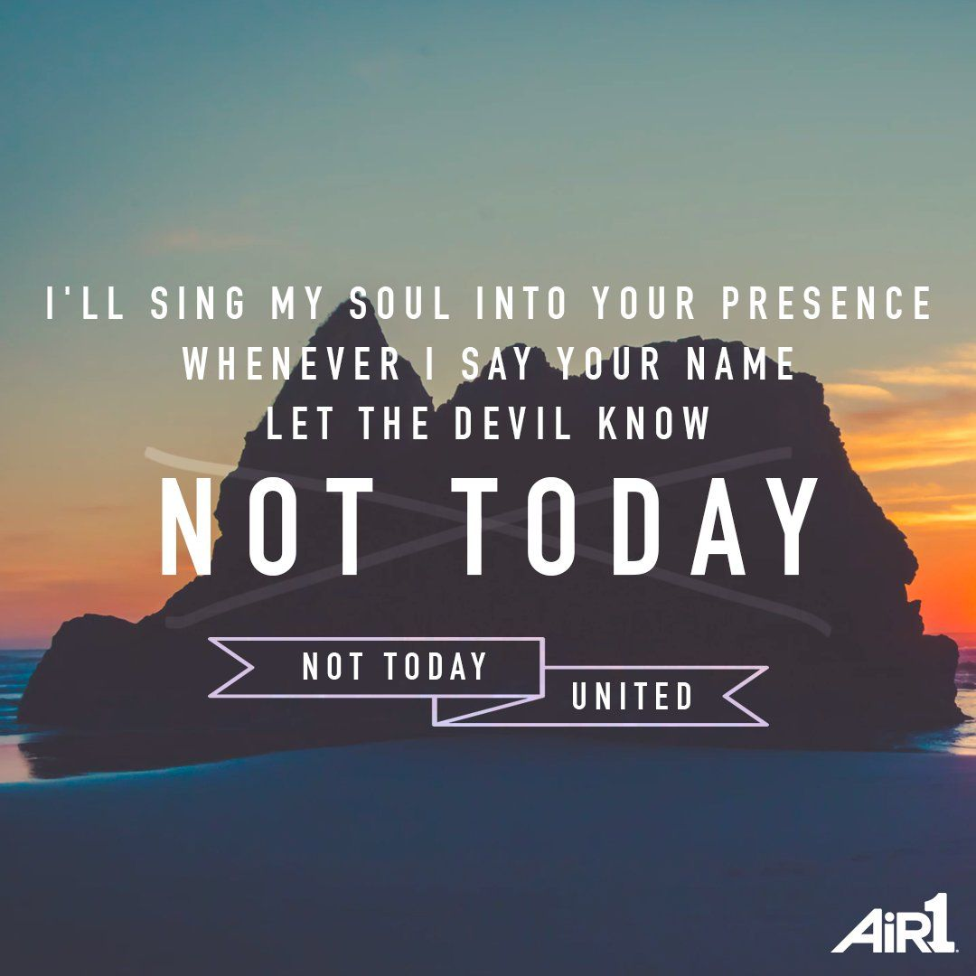 Citaten Hoop United : Hillsong united lyrics not today #hillsongunited song lyrics