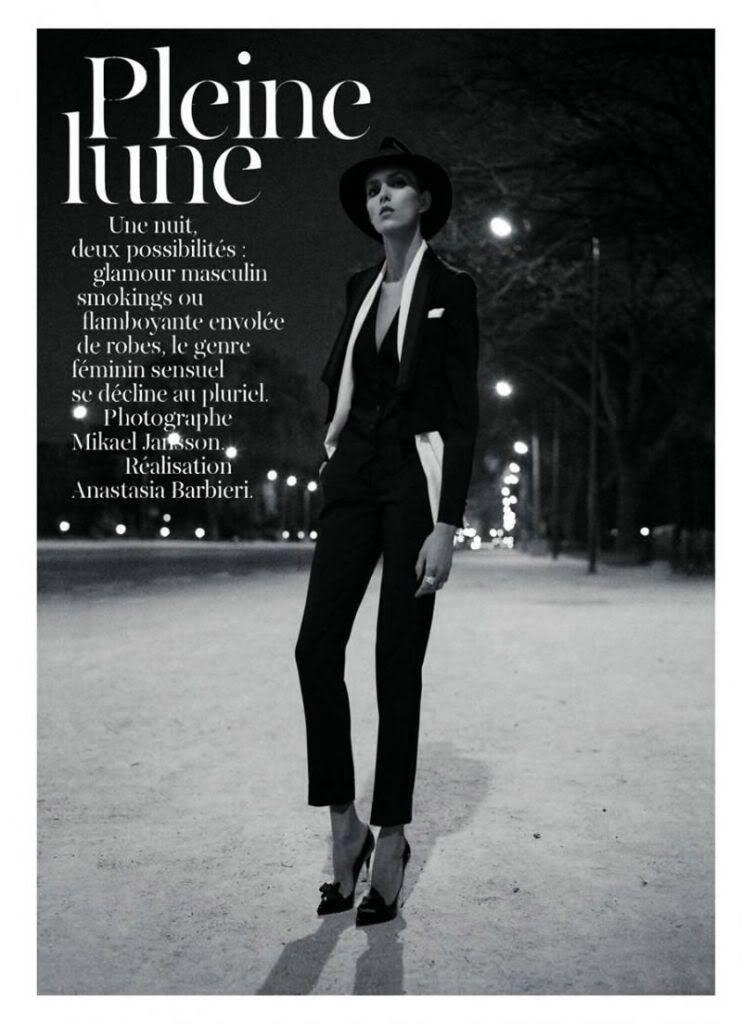 Vogue Paris May 2011, Anja Rubik