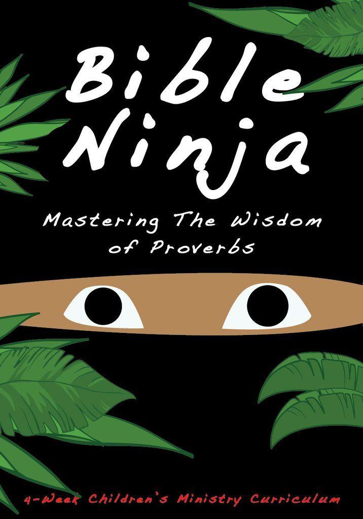 Bible Ninja 4-Week Children's Ministry Curriculum | Bible