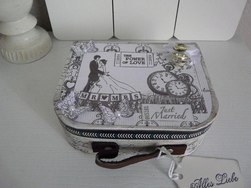 Geldgeschenke - Geldgeschenk  Hochzeitsgeschenk Hochzeitsreise  - ein Designerstück von Froehlich-Elena bei DaWanda