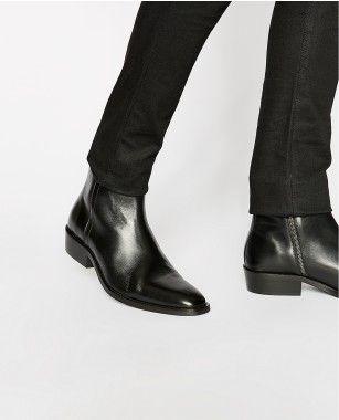 27ec807b4437 Chelsea boots cuir noir - Notre Sélection HOMME