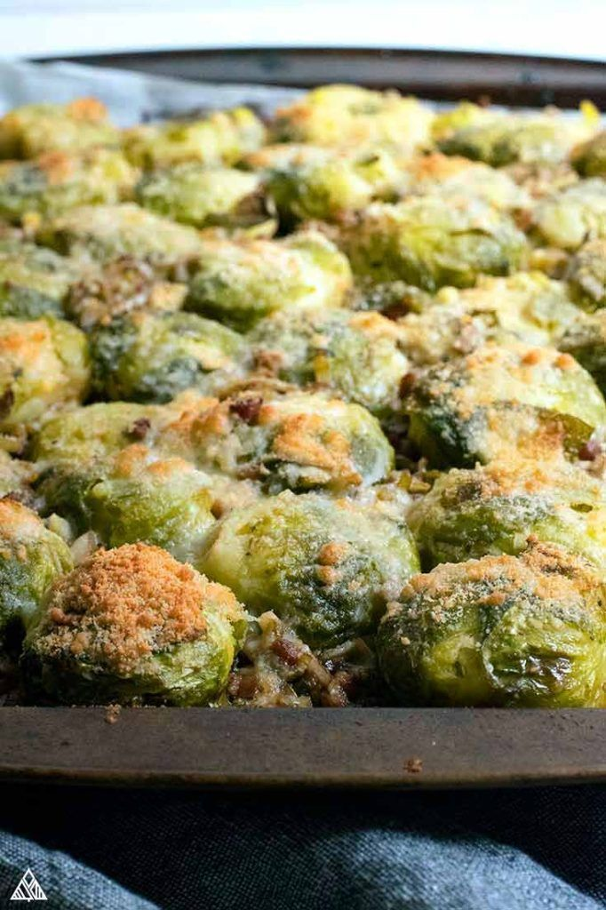 Smashed Brussel Sprouts #smashedbrusselsprouts This smashed brussel sprouts recipe is a decadent combination of rich, layered flavors that will totally change your opinion of cruciferous vegetables. #smashedbrusselsprouts #lowcarbsmashedbrusselsprouts #smashedbrusselsprouts