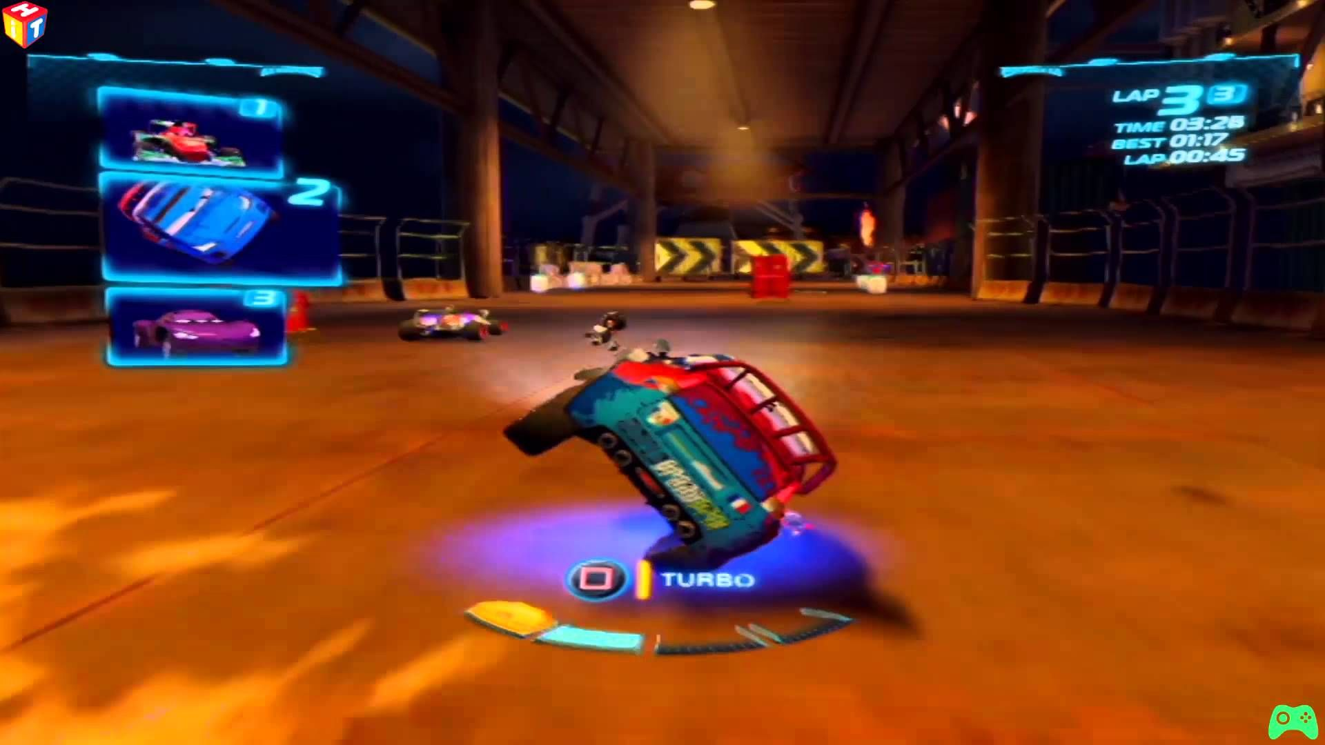 Cars 2 Game - Raoul ÇaRoule - Oil Rig Run - Alive Cars - Battle Race