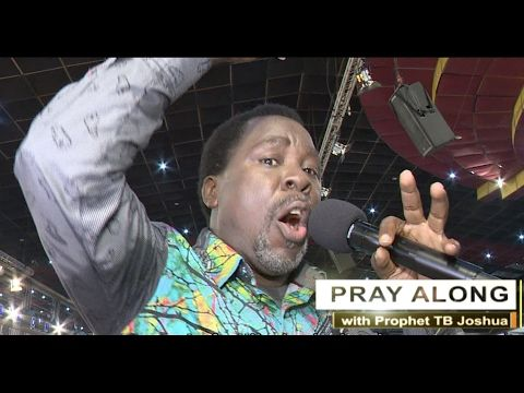 Is This TB Joshua's MOST ANOINTED Prayer EVER??? - YouTube