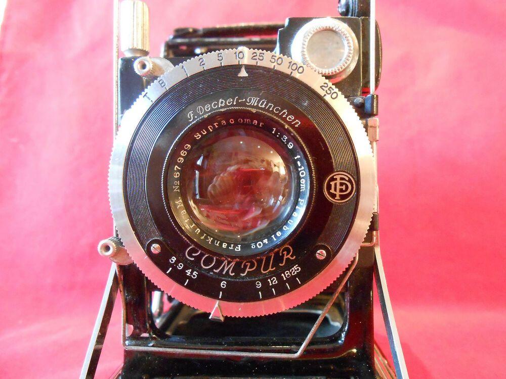 Ebay Sponsored Supracomar 39 10cm Objektiv Lens Patent Etui 65x9