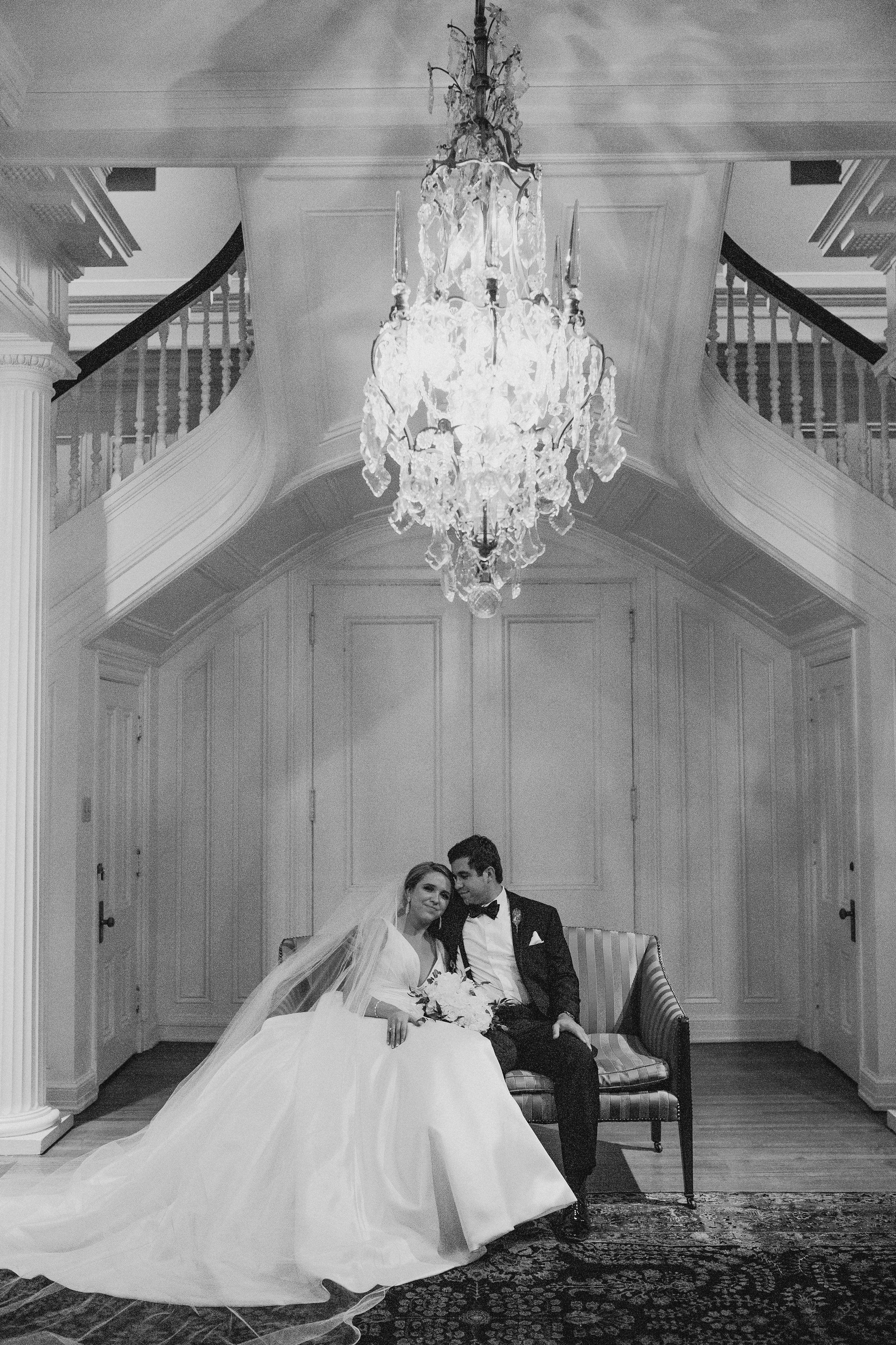 Black and white wedding photo wedding photos hunter museum
