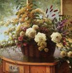 Zaitsev Alexander. A bouquet on a dresser