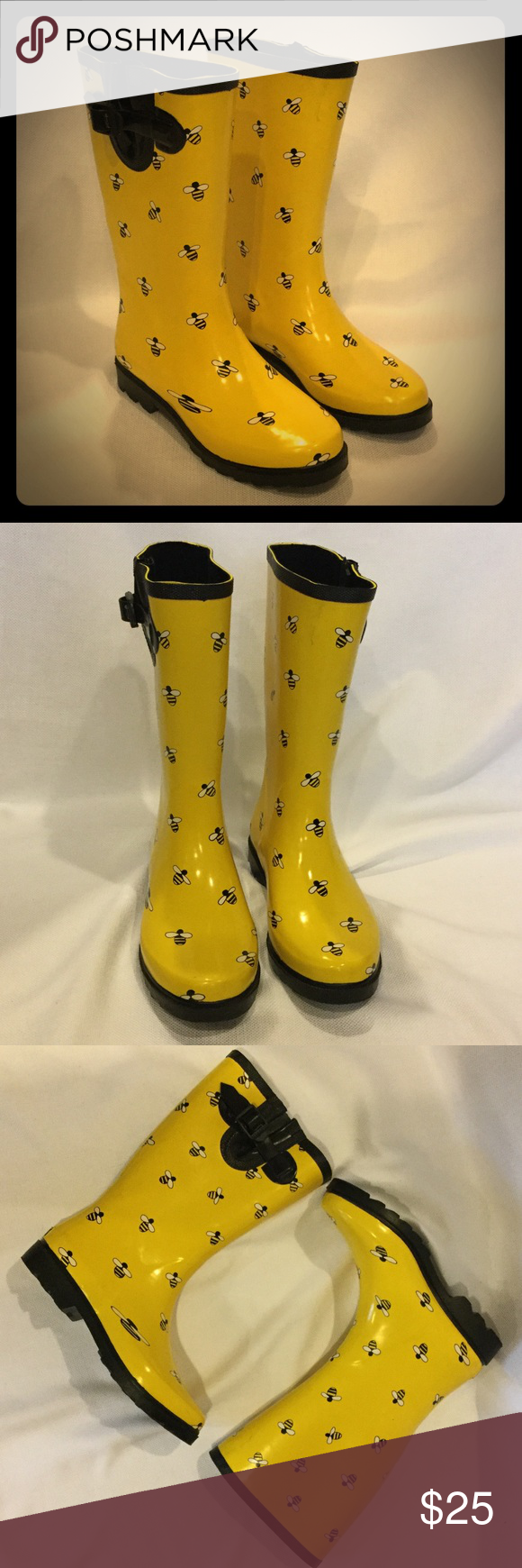 Ranger bumble bee rubber boots bumble bees rain boot and bees