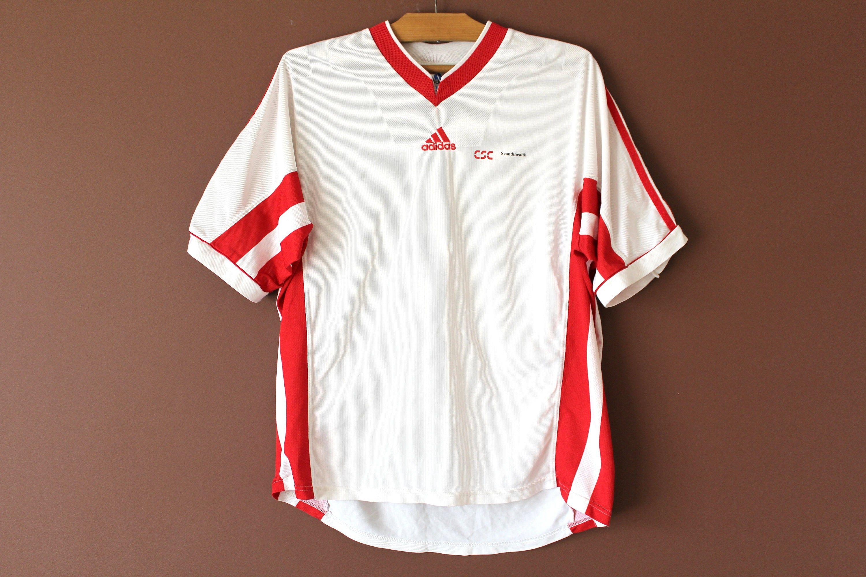 Vintage Adidas Football Shirt, Made in England, Football Jersey ...