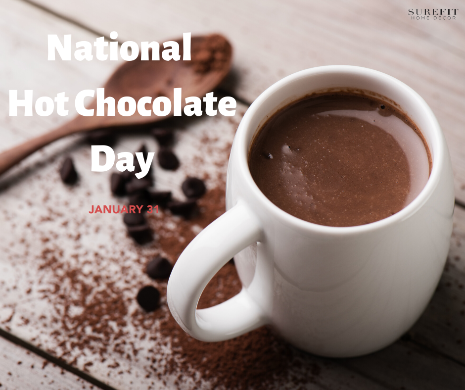 National Hot Chocolate Day In 2020 Chocolate Day Hot Chocolate Furniture Covers