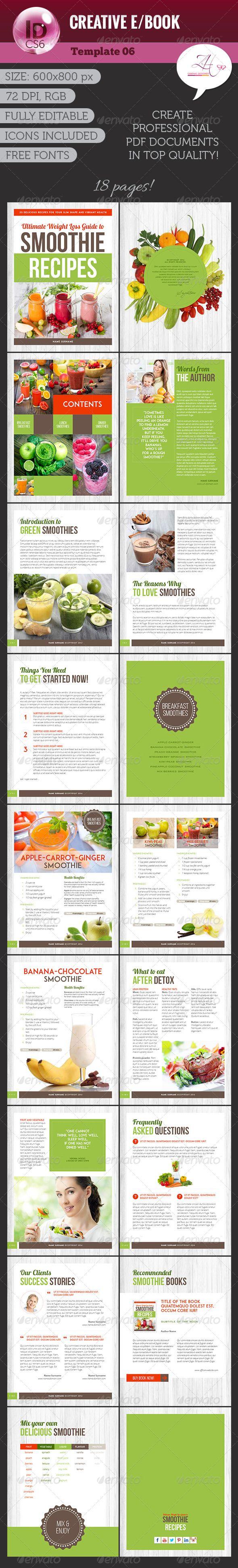 Creative eBook Template #ebook #design Download: http://graphicriver ...