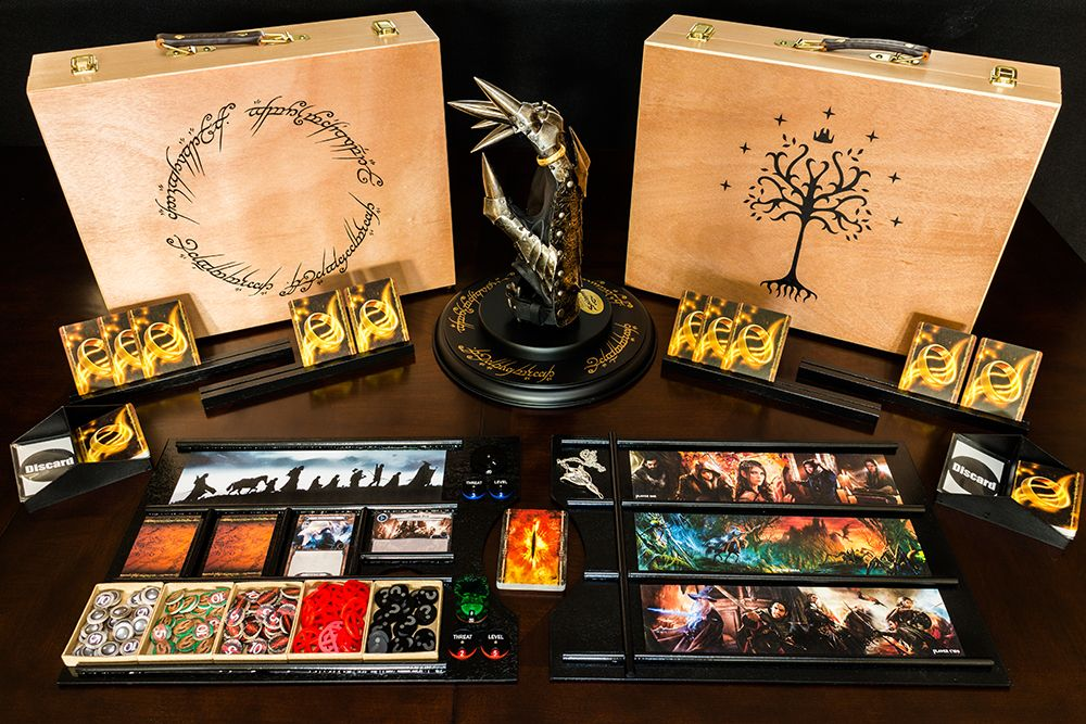 Lord Of The Rings Lcg Playmat And Storage Solution Living Card Game Lord Of The Rings Card Game Accessories