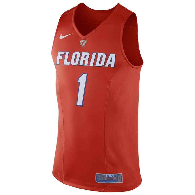 1353adb740a  1 Florida Gators Nike Hyper Elite Authentic Performance Basketball Jersey  - Orange -