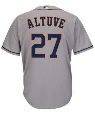official photos c2e5f 11035 Majestic Men's Jose Altuve Houston Astros Player Replica ...