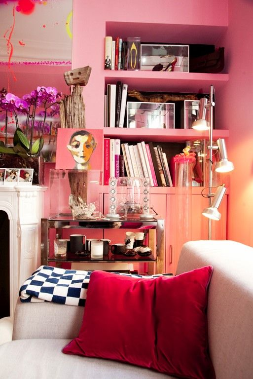 Interior Inspired // Collected Feminine | Paris pictures, Living ...