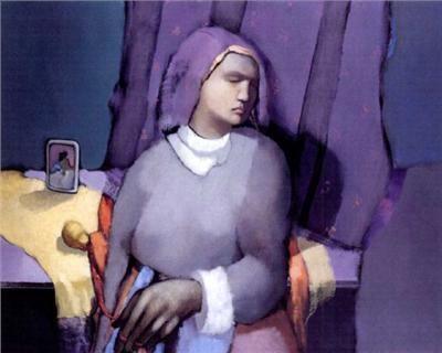 Olga Sinclair - Nostalgie du dernier rendez-vous - Arte Panamá - Informacion de la Obra