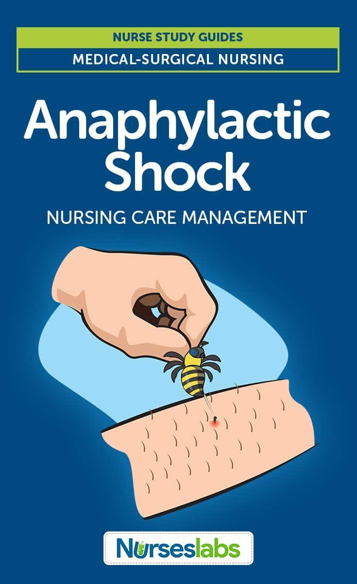 Anaphylactic Shock Nursing Care Management and Study Guide Best Nursing  Schools, Nursing School Notes,