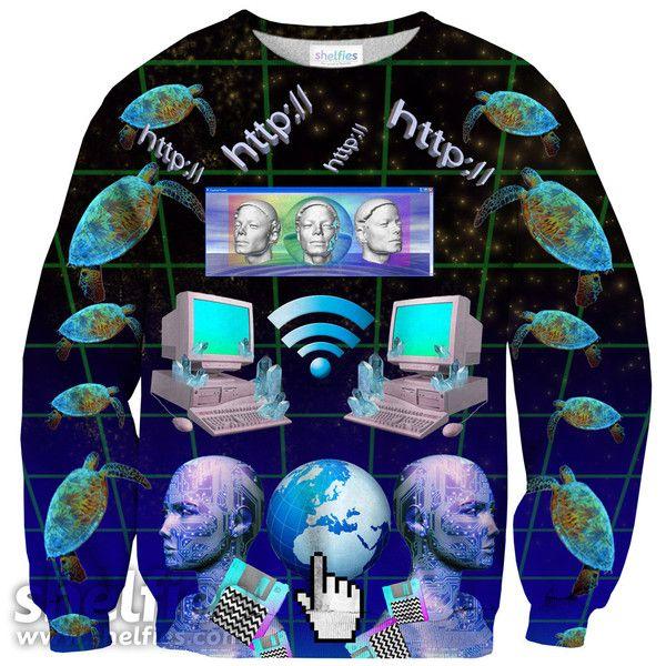 Cyber HTTP Sweater – Shelfies