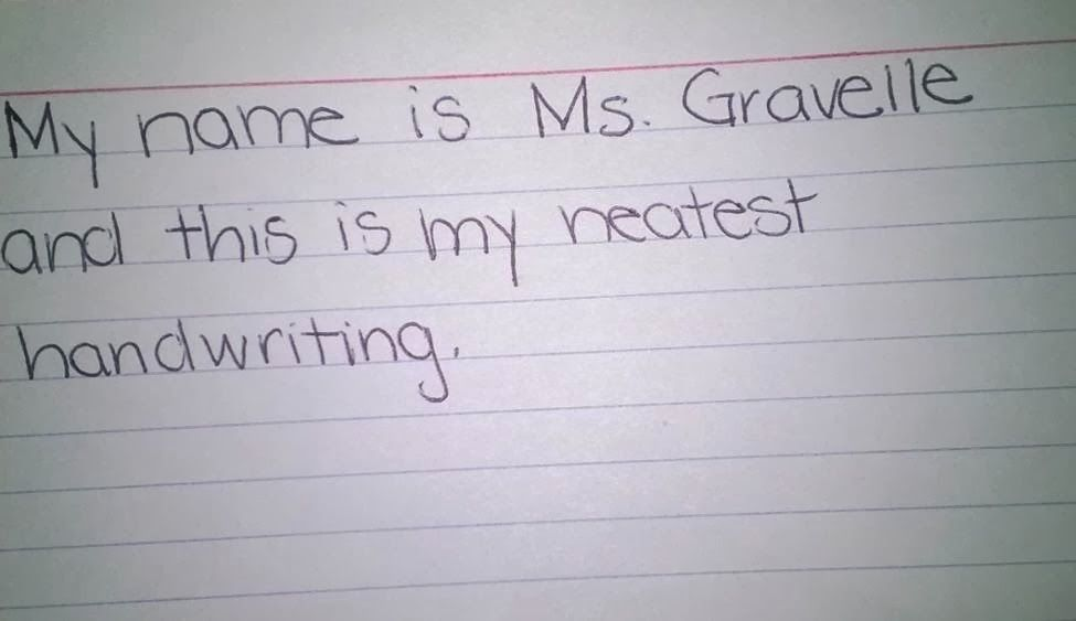 Cute Idea To Reward Students Do Their BEST Handwriting In The Classroom
