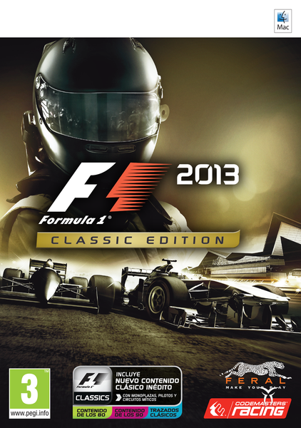 Mac Digital Download (Steam Key) F1 2013 Classic Edition