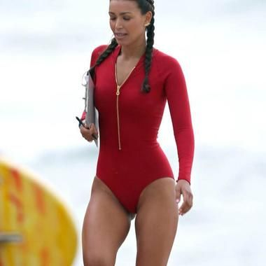 7d3a2e4dd4 Ilfenesh Hadera Dons The New And Really Ugly Baywatch Swimsuit  brisbanes.news