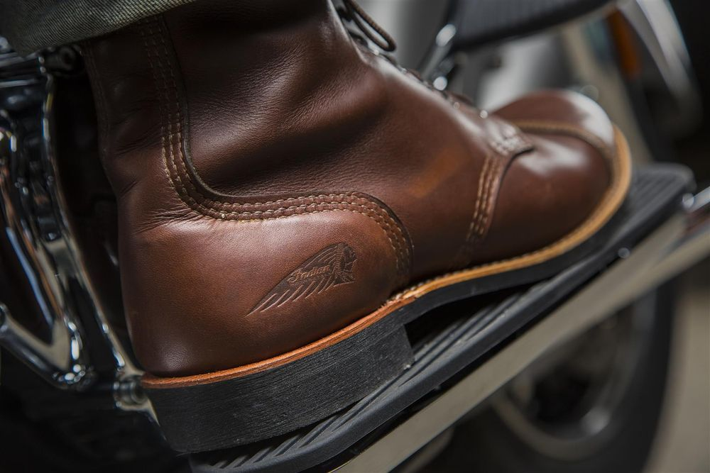 Spirit Lake Red Wing Shoes motorcycle boots