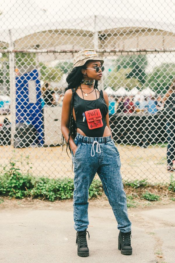 Самые стильные и красивые девушки фестиваля Afropunk2014