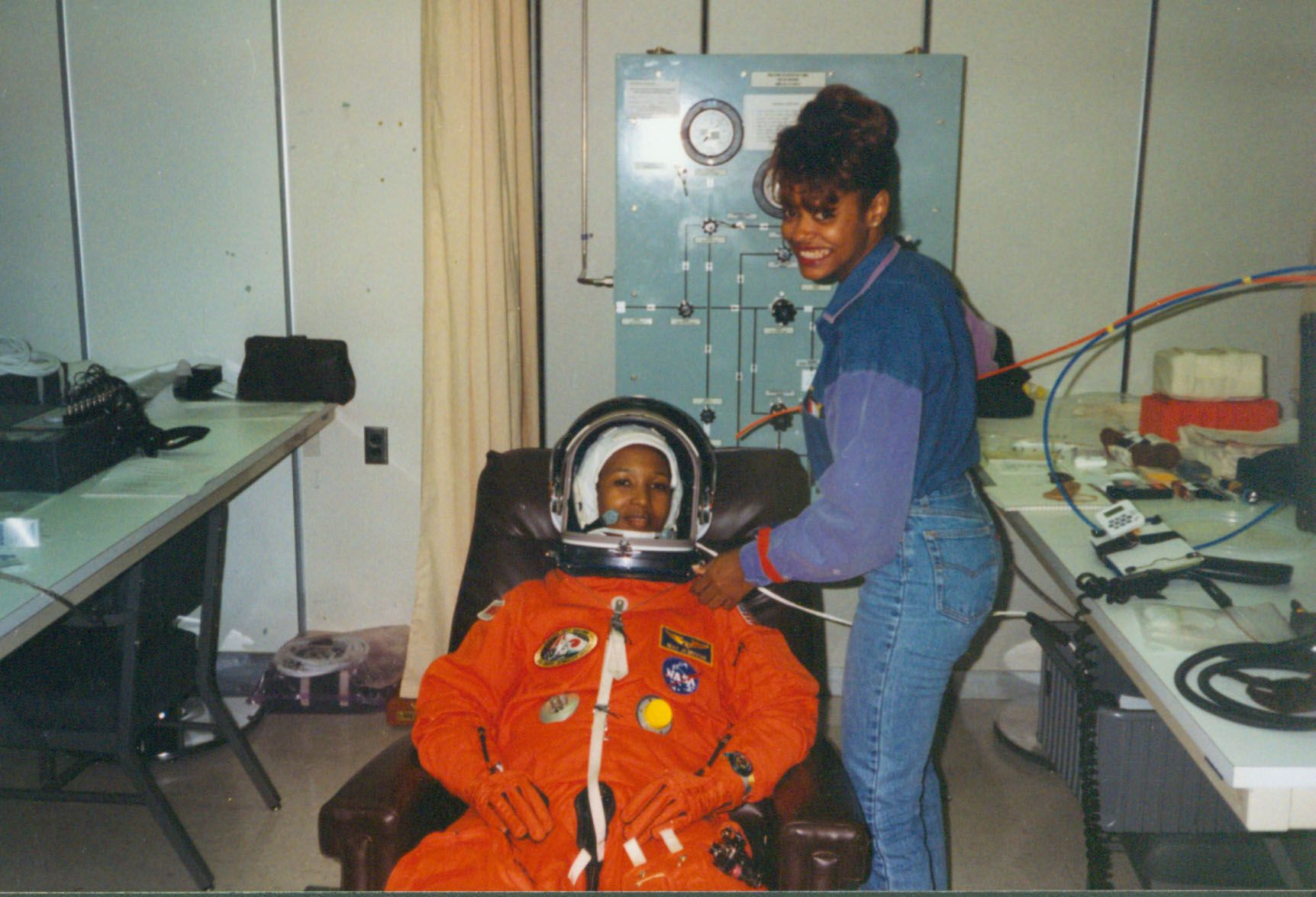 Sharon Caples Mcdougle And Mae Jemison