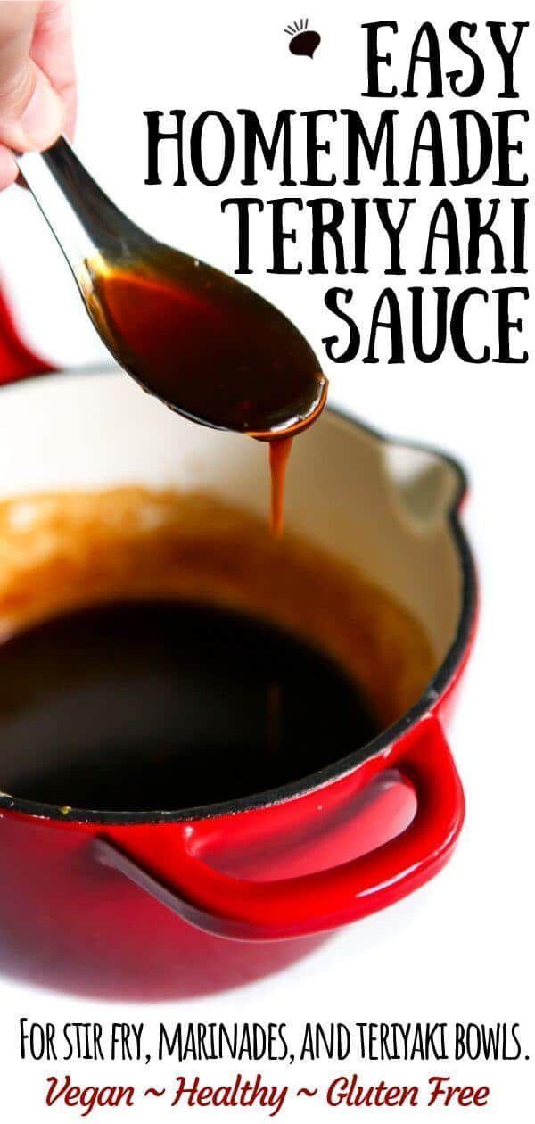 Easy Homemade Teriyaki Sauce - The Hidden Veggies