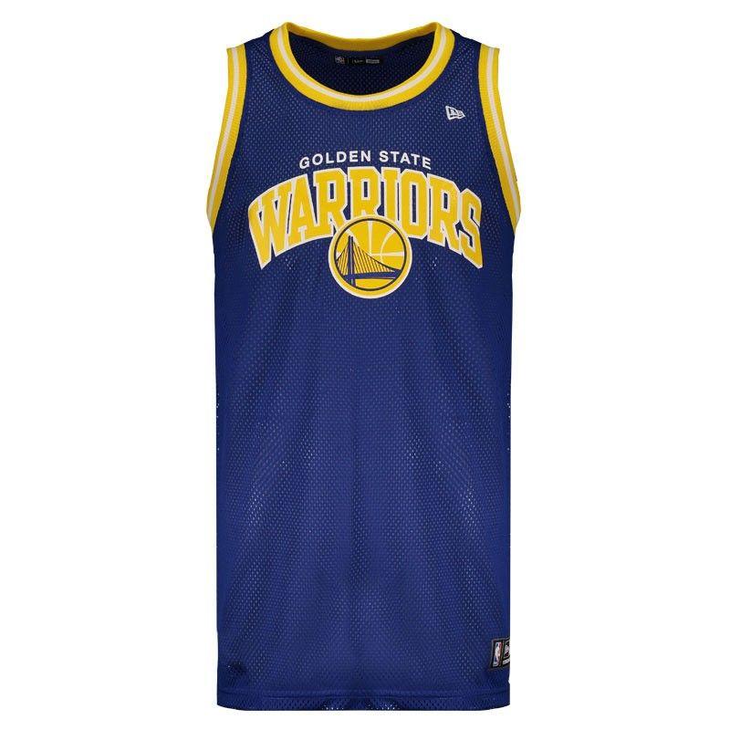 Regata New Era Nba Golden State Warriors Game Somente na FutFanatics você  compra agora Regata New 027a82fe935bd