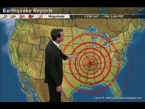 Warning Killer Earthquake In New Madrid Fault Video Lasts - Fault line map us