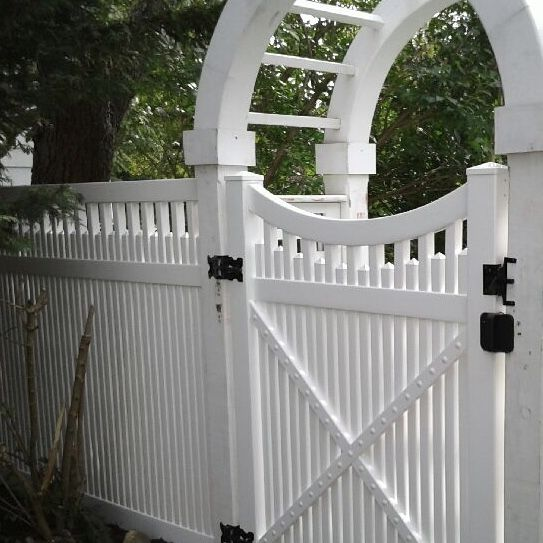 Best 48 Pvc Grand Arbor Custom Height 68 Saturn Fence With 400 x 300