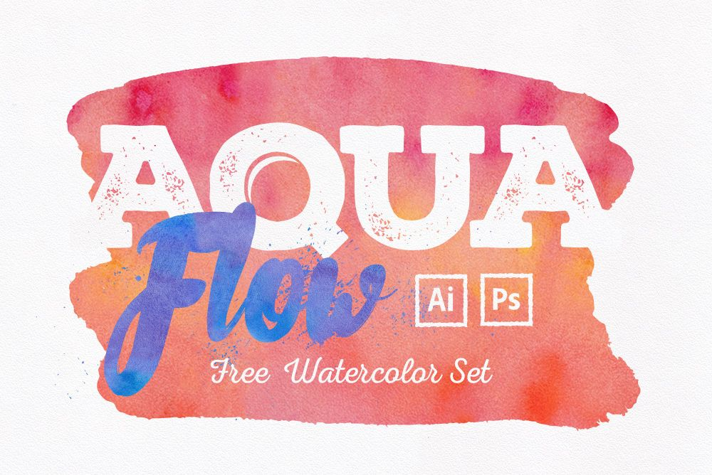 Aquaflow Watercolor Generator Illustrations Unleash Drawn Vector