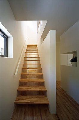 Best Stairs Two Straight Interior Induce House Concept 400 x 300
