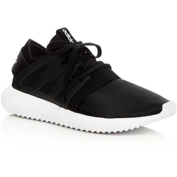 Adidas Tubular Viral Lace Up Sneakers (1 445 ZAR) ❤ liked on Polyvore  featuring shoes, sneakers, sport shoes, stretchy shoes, adidas trainers,  lace up ... bba89f7227cf