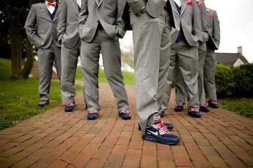 More Weddings Should Include Custom Nike Air Max S Fresh Just For Luke Nike Air Max 2016 Nike Motivation Nike Runners