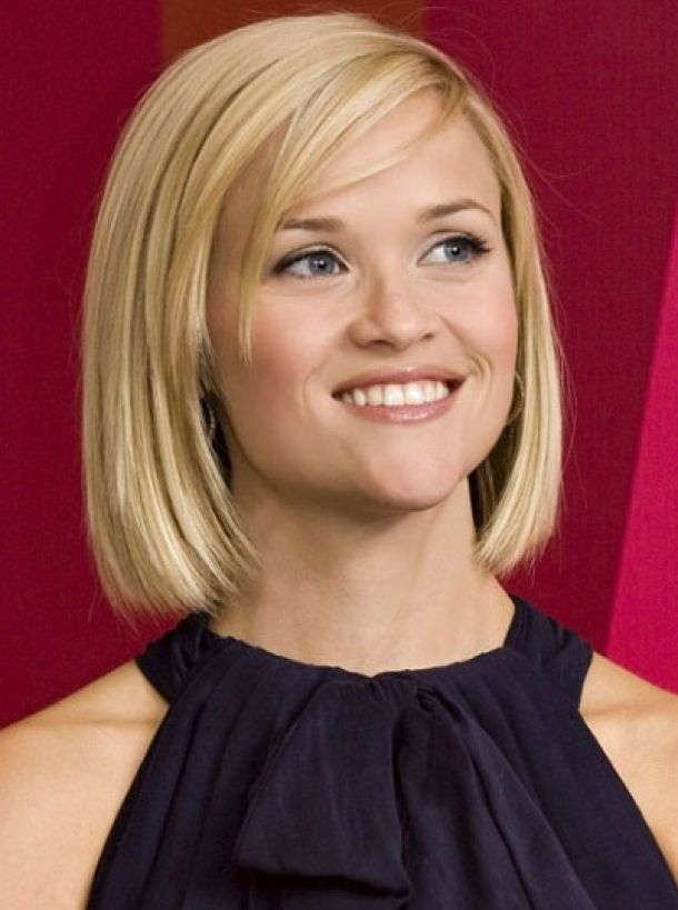 Reese Witherspoon Blunt Blonde Bob Hairstyles Free