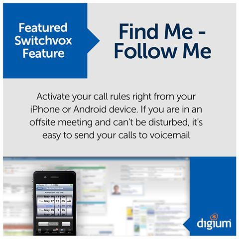 Switchvox Feature: Find Me, Follow Me - Activate call rules right