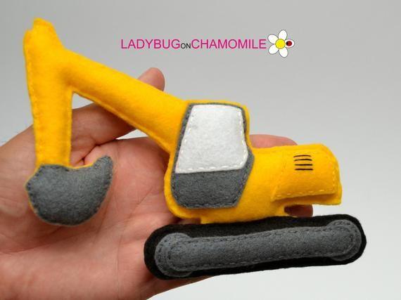 VEICOLI, giocattoli in feltro TRANSPORTATION, ornamenti, magneti - Prezzo per 1 elemento - feltro giocattolo, automobili feltro, veicoli, trasporti #felttoys
