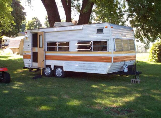 Terry Taurus Camper Papaw And Mamaw Had This Camper So Many Great Memories Retro Campers Camper Vintage Trailers