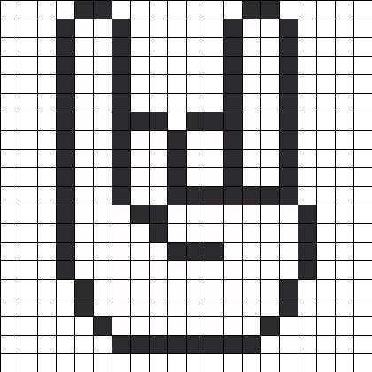 Pin De Eren Flores En Perler Arte Píxeles Minecraft Dibujos